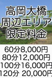 高岡大橋エリア限定コース